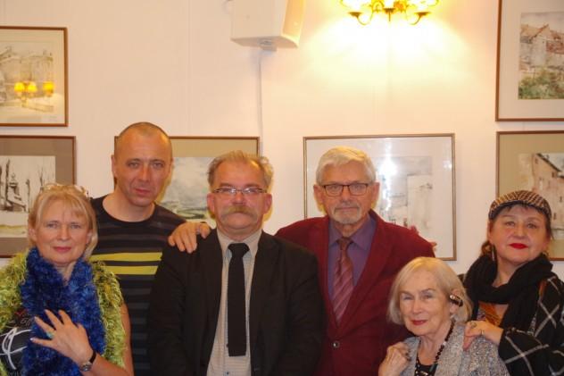 Monika Maciejczyk, Dariusz Sas, Mirosław Gontarski, Kazimierz Burnat, Aleksandra Pijanowska-Adamczyk i Grażyna Adamczyk-Lidtke
